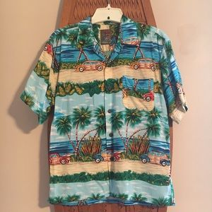 Other - Tropical button down shirt for young boys